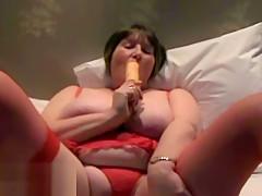 Amateur footage of Aunty Sandie