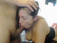 sexo oral fuerte de chilena