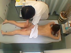 milking tits during massage japanese
