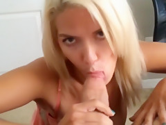 Amazing Amateur Blonde Fucked By Boyfriend