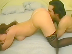 Firm Boobs Brunette Takes A Load On Her Ass