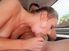 Blonde Sucks that Deep Dick