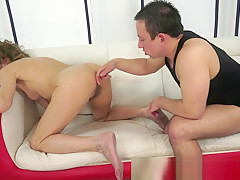 Bigass granny screwed after toy play