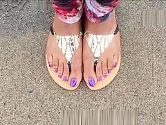 Evonna Cammon Purple Toenails