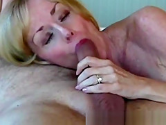 Beautiful Grannie Loves Hard Cock