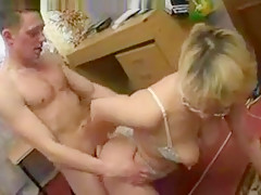horny mom with her Son's friend