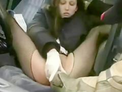 Rasturena u autu