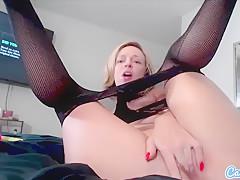 CamSoda - Jada Stevens Big bum Masturbation orgasm