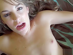Pornstar realtor Kimmy Granger facialized