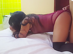 I love being doggy in my huge ass