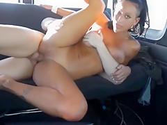 Slut in a van