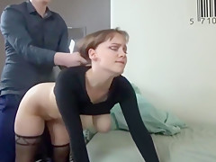 Drunk Australian Whore With Big Tits Loudly Screaming! Homemade Porn with a Young Bitch