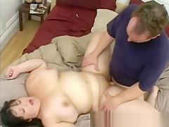 young chubby girl needs hard