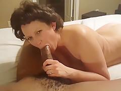 Granny Doesnt Let Black Cock Go