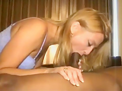pretty hot blonde Hotwife has fun