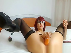 Nice Redhair Babe Webcam Anal Show Free Po