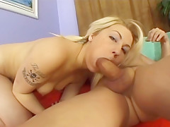 Amateur Blonde Gets Rammed By A Bald Guys Dick