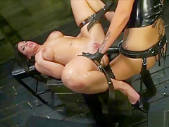 Extreme Machine Sex and Bondage