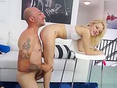 AmateurEuro - Skinny Italian Young Slut Ass Drilled At Casting