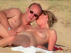 french couple on the beach 5 - fucking