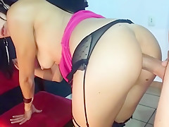 Fucking her French ass - FUX