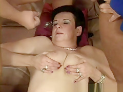moms first threesome fuck