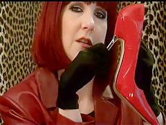 Gloves Fetish, Heel Stroke - ImLive