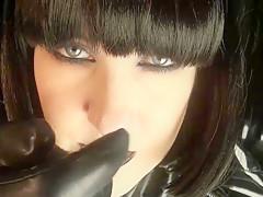 Dark Mistress, Black Pvc, Spit - ImLive