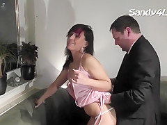 I get my twat drilled with rod in homemade cumshot clip