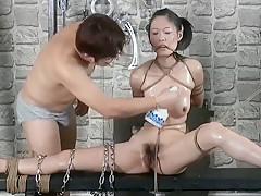 Chinese Model YingZi - Bondage Shoot BTS