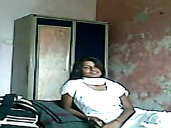 Amateur sex with shy Indian GF