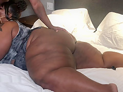 Sucking Cock Then Throwing This Jiggly Ass On A Lucky Guy, Can HE HANDLE IT