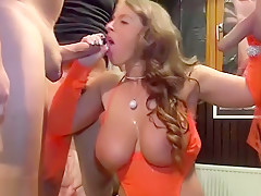 real german party fuck orgy with sexy susi