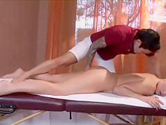 A hot massage