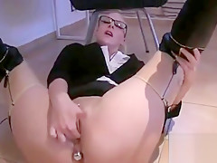 Fucked In Latex Stockings