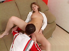 Hot sex with young couple