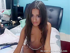 Gorgeous Latina Teasing And Playing With Herself - TheGFNetwork