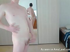 Horny Boyfriend Masturbating On Webcam - 429Videos