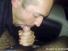 Horny Latino Man Sucking In The Car - 429Videos