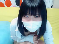 Japanese Cutie Teasing In Non-Nude Webcam Show - AsianGFVideos