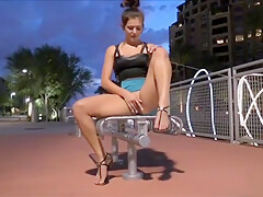 Fit babe Fiona 6 sultry evening