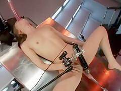 Sensi Pearl machine fucked part 2