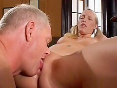 Pussy licked and ass fingered