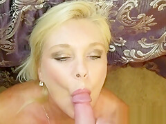 She Wants to Taste the Cum from the Cock in Her ASS