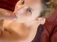 Horny couple makes amateur vid