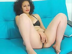 Sexy Latina Girl on Webcam