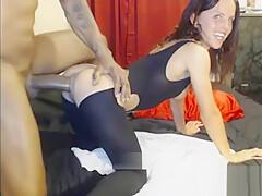 IR Huge Cock Webcam MILF Creampie