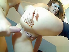 Anal creampie for the girl from Slovenia