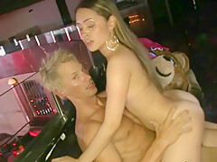CFNM amateur doggystyled by stripper