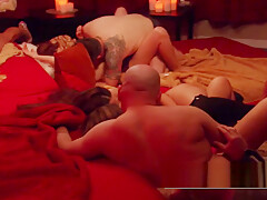 Americans swap partners in sexual and erotic orgy adventure